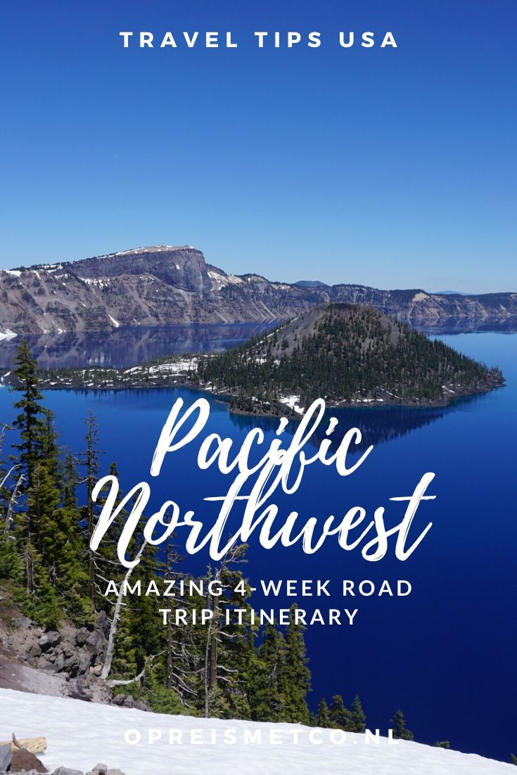 Pacific Northwest road trip itinerary -from Portland to Yellowstone