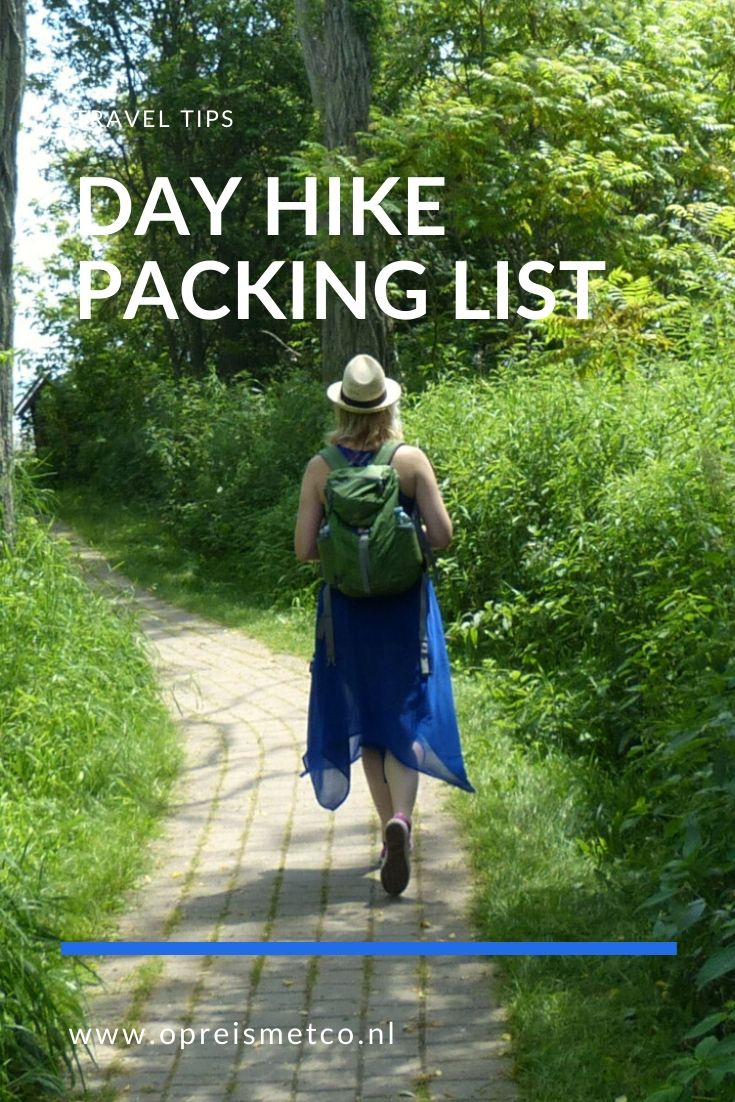 Whats in my pack - Day hike packing list