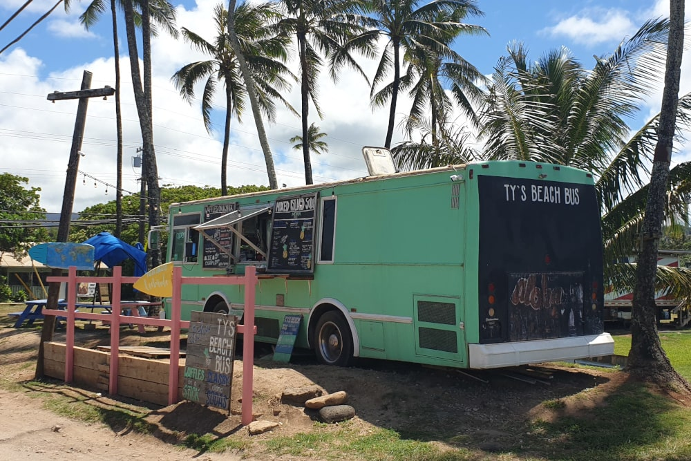Foodtruck in Kahuku - Oahu