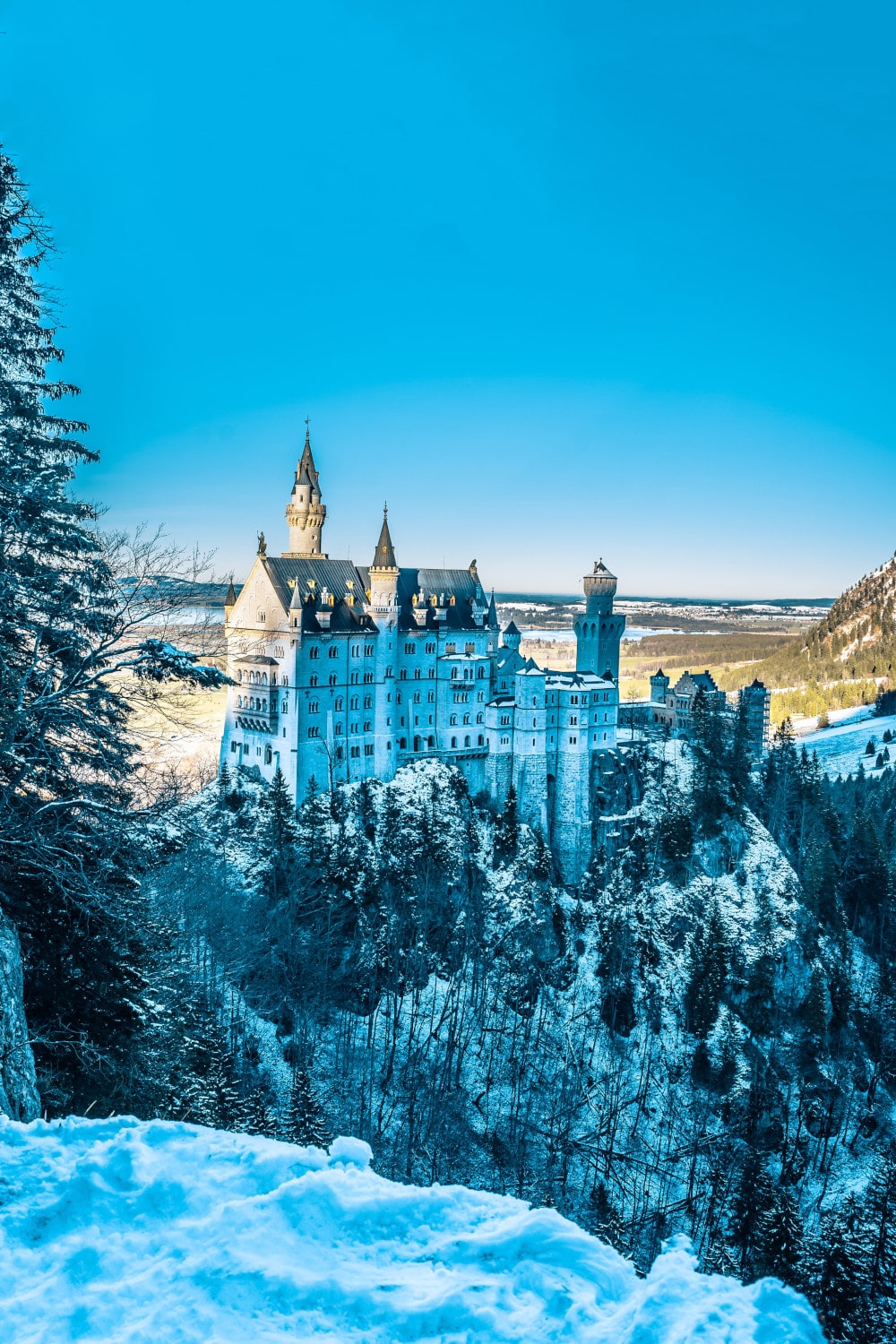 Slot Neuschwanstein - Photo Bharat Patil via Unsplash