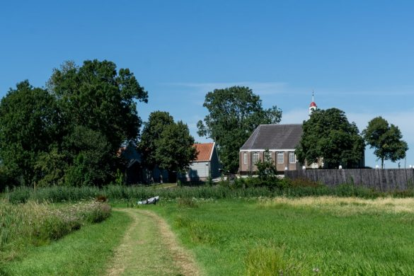 Schokland: a unique island in The Netherlands