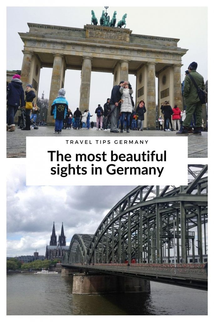 The most beautiful places in Germany