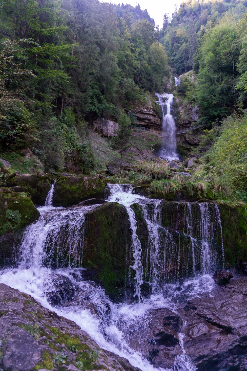 The Giessbach Falls