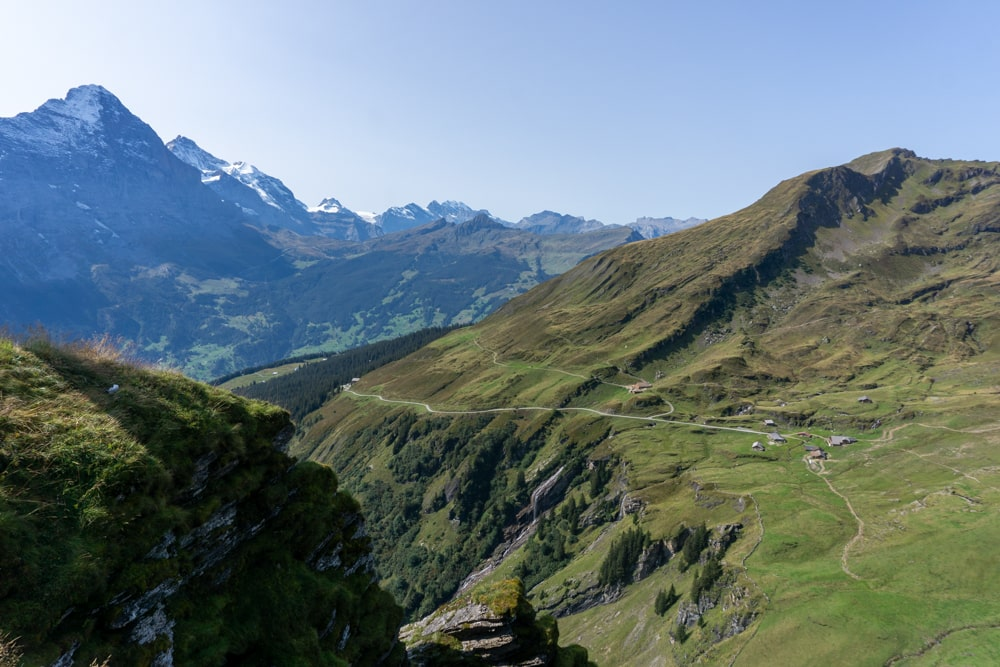 Spectacular view from Grindelwald First