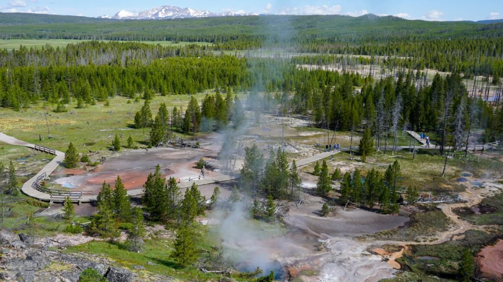 Yellowstone National Park - tips en de mooiste bezienswaardigheden