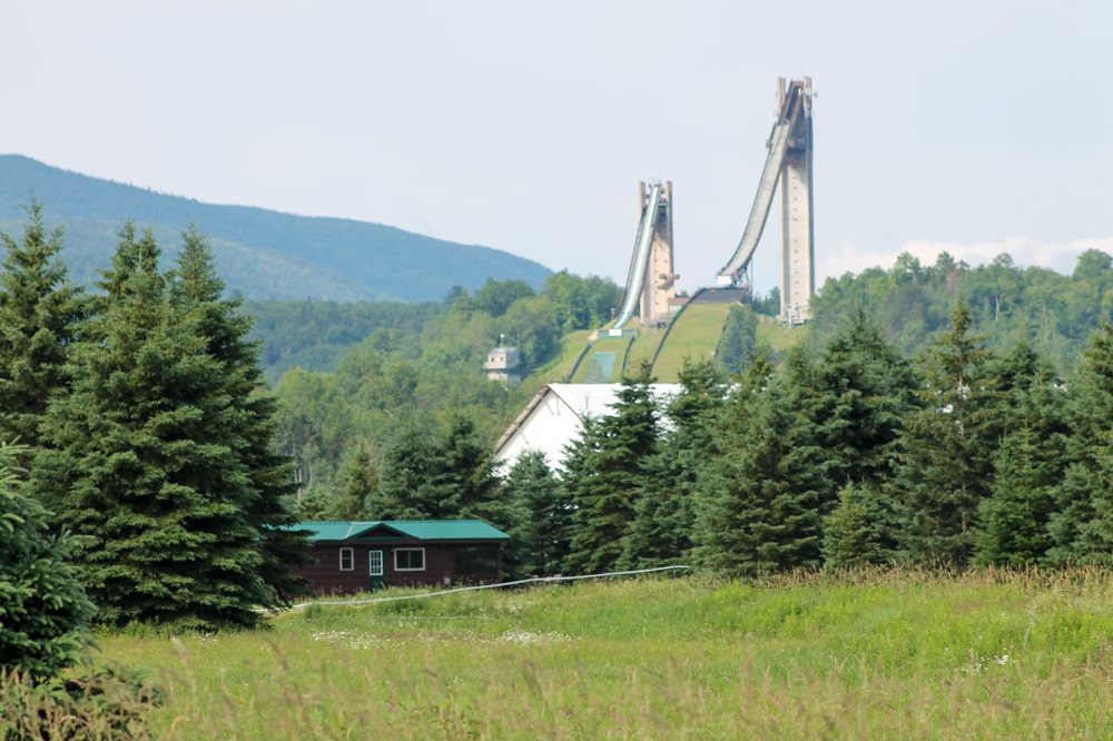 Ski jump in Lake Placid