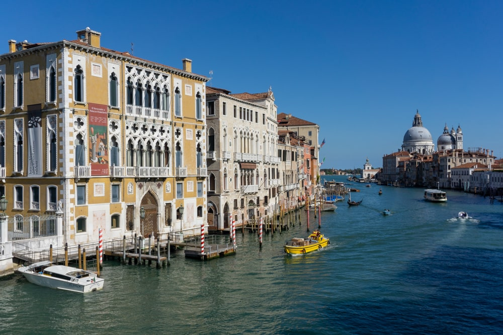 The View from Ponte dell Accademia - Venice