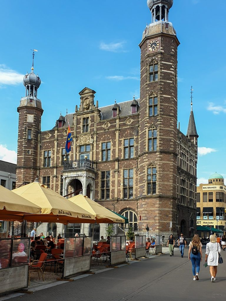 The town hall in Venlo - Limburg