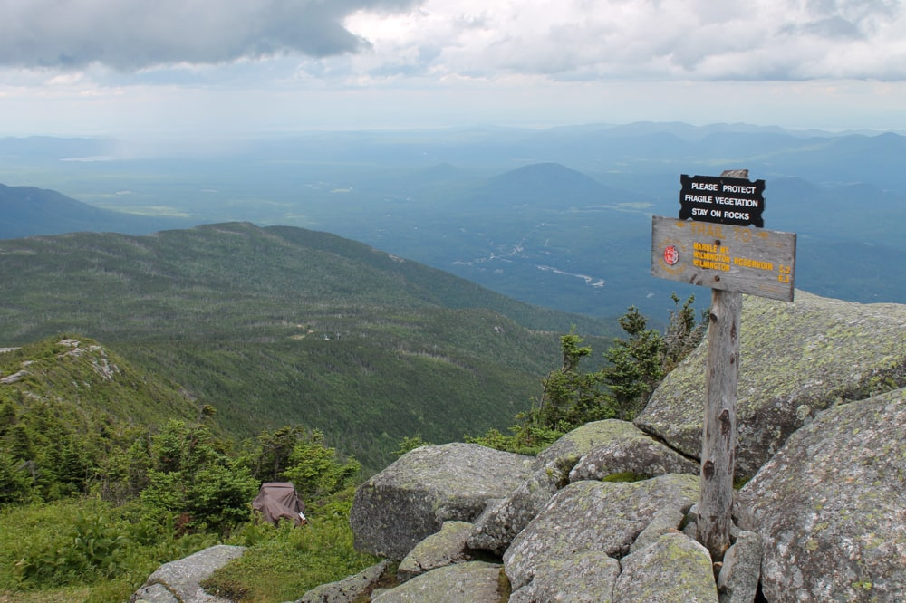 Trail from Whiteface Mountain to Wilmington