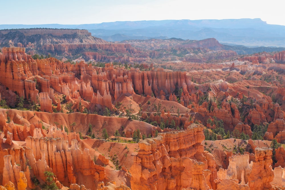 View of the amphitheater from Bryce Point