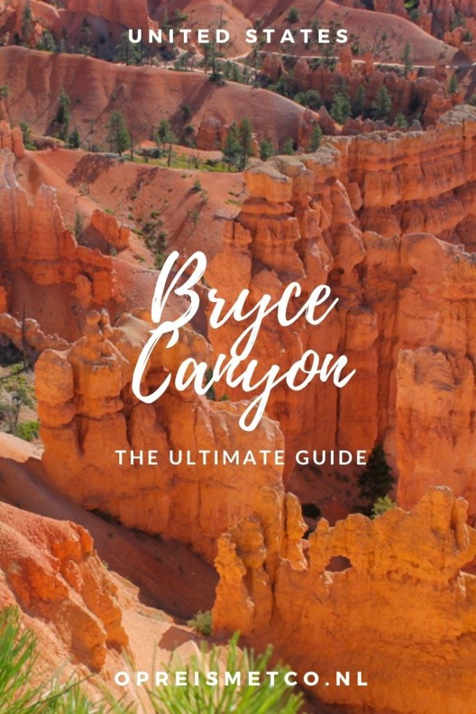 Bryce Canyon National Park - viewpoints - hiking trails - tips