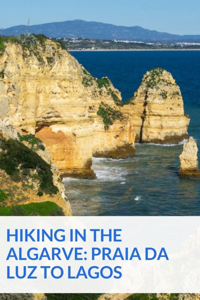 Hiking from Praia da Luz to Lagos - Fishermens Trail section 13
