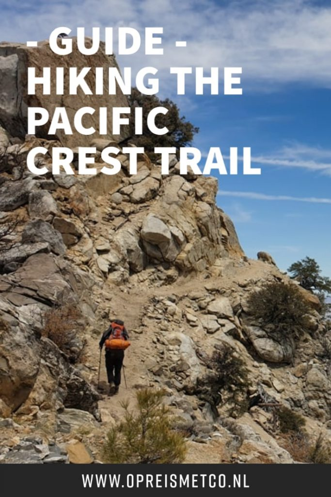 Hiking the Pacific Crest Trail - from Mexico to Canada