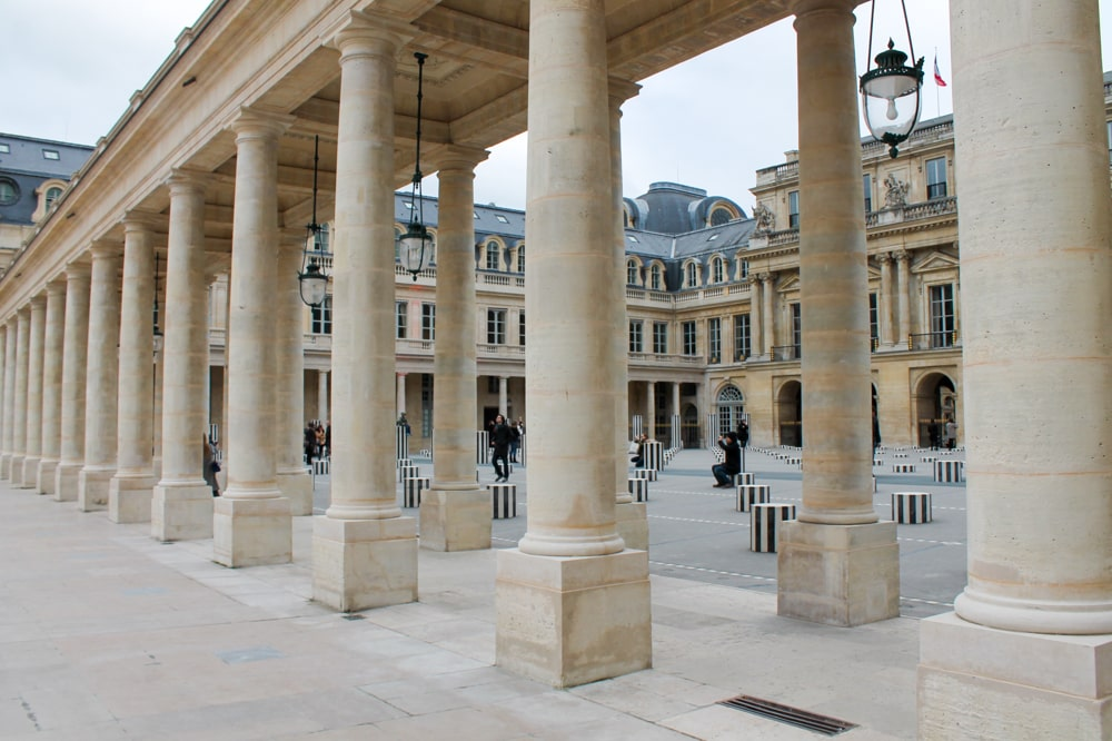 Jardin des Palais Royal in Parijs