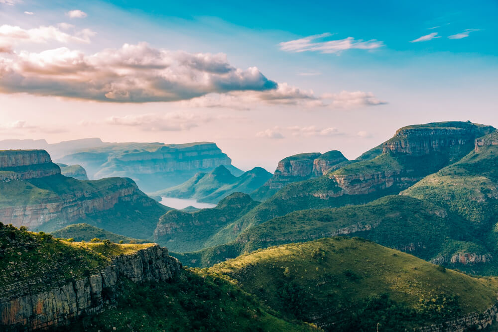 Blyde River Canyon in Zuid Afrika