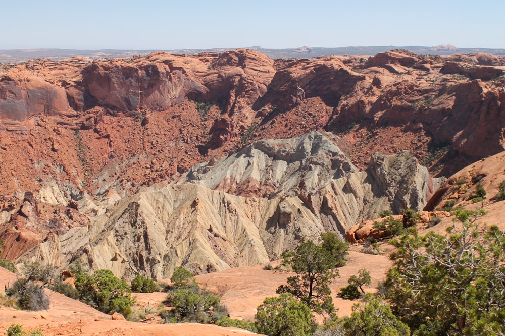 Upheaval Dome Trail - Canyonlands National Park