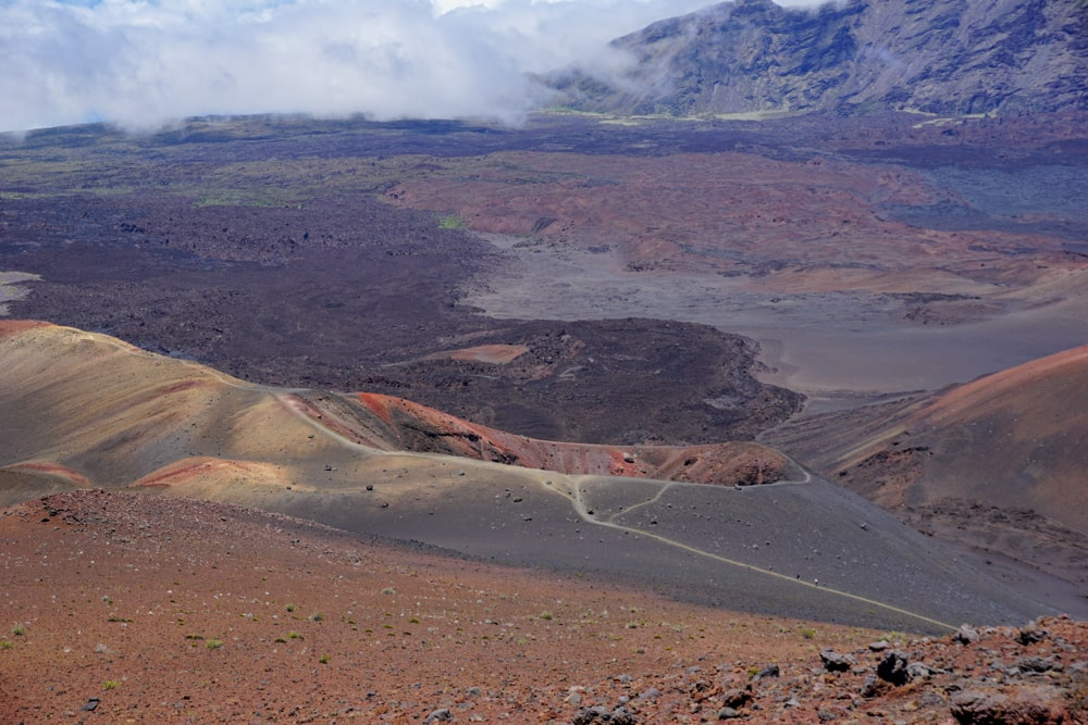 Crater in Haleakala National Park