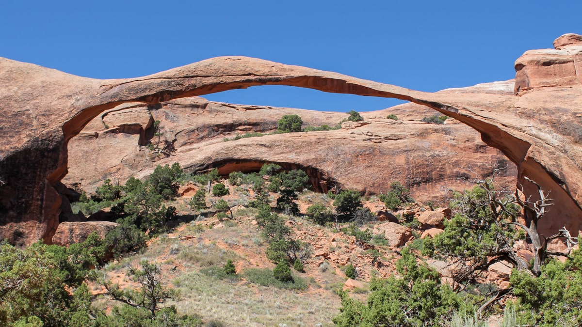 visiting Arches National Park