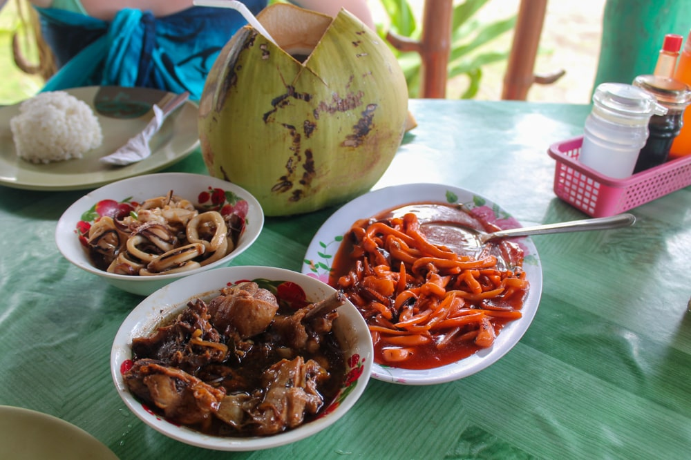 Local food in the Philippines