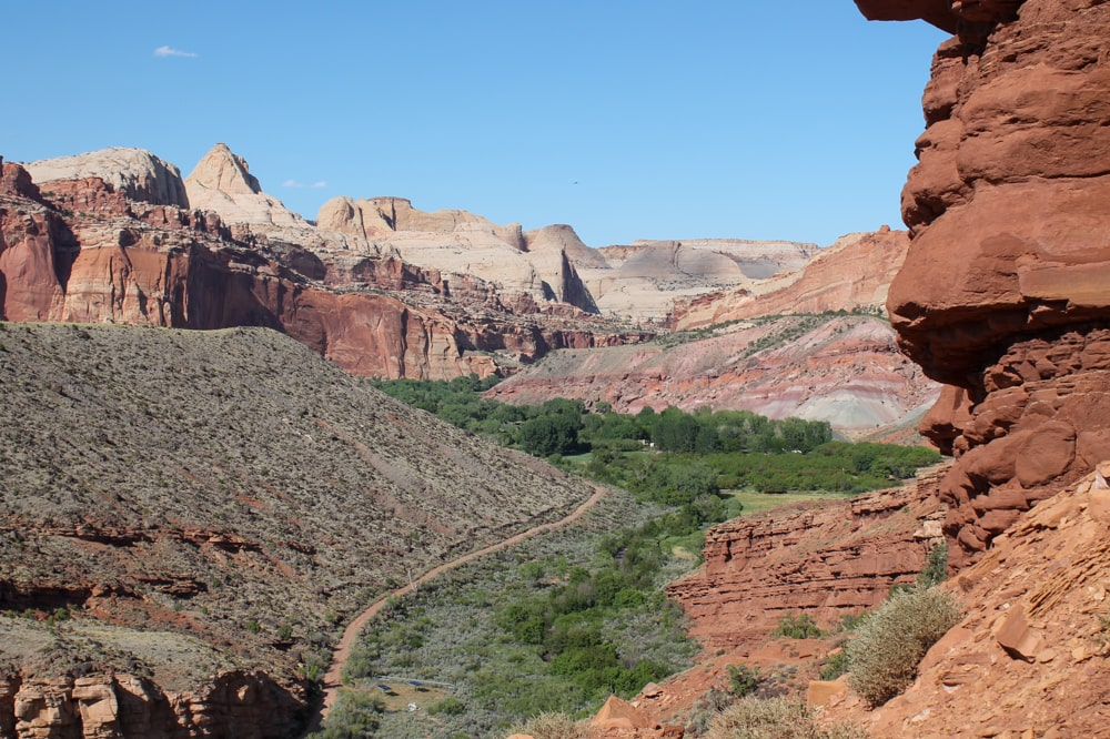 Fremont River Trail Capitol Reef