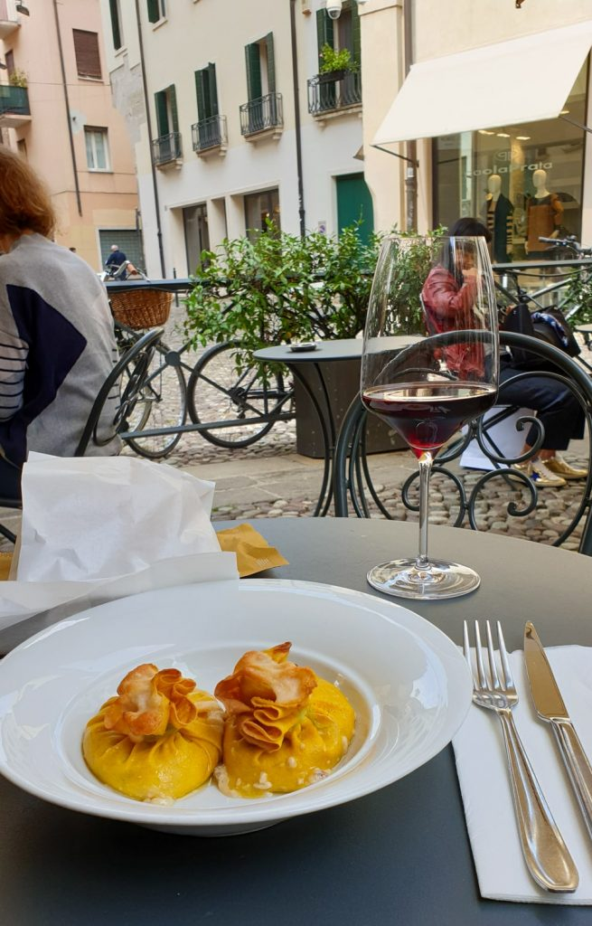 Italian food in Padua