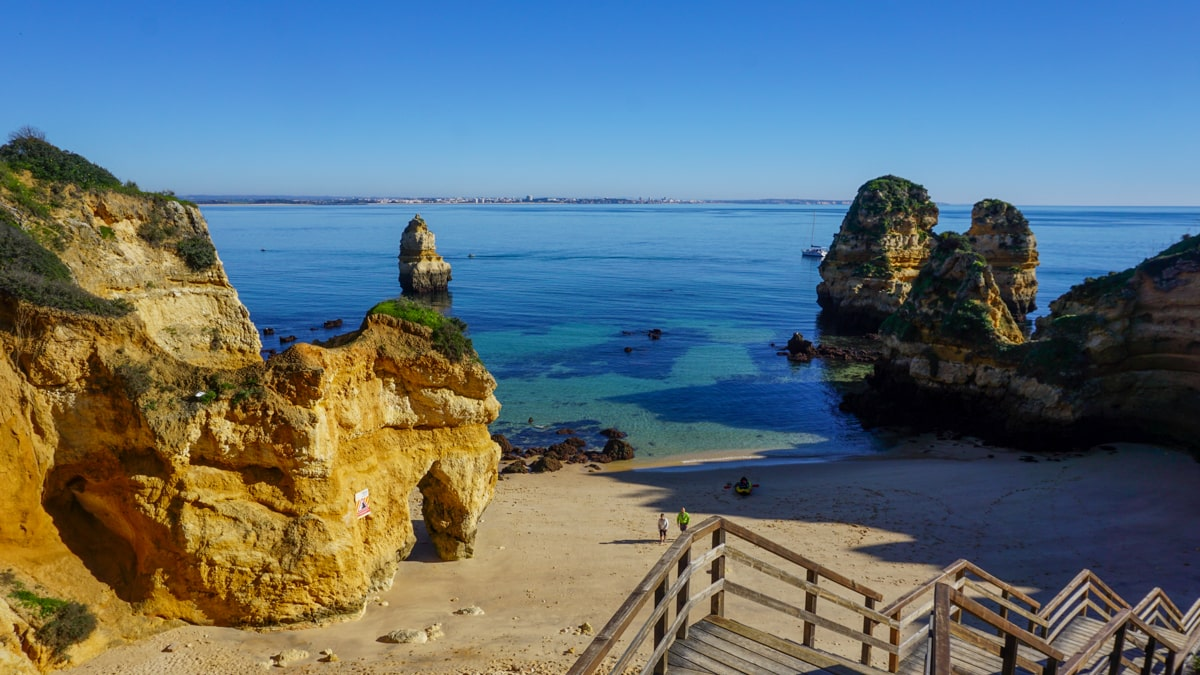 The most beautiful beaches in Lagos - Algarve Portugal