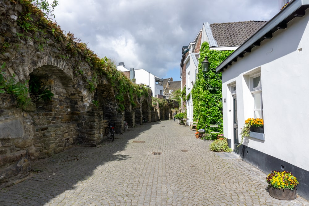Beautiful streets in Maastricht