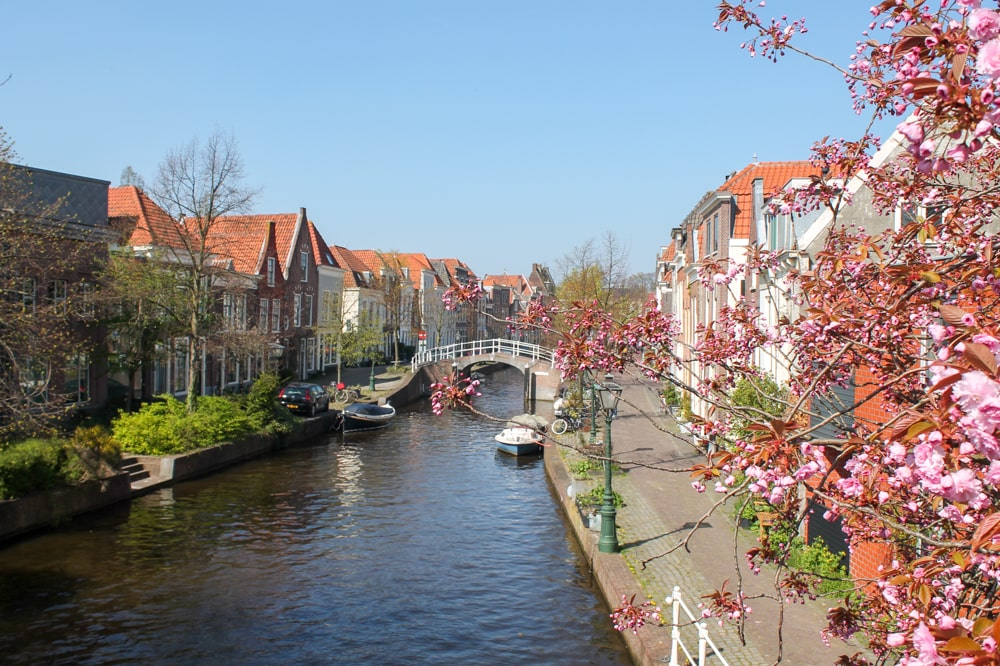 Leiden in South-Holland