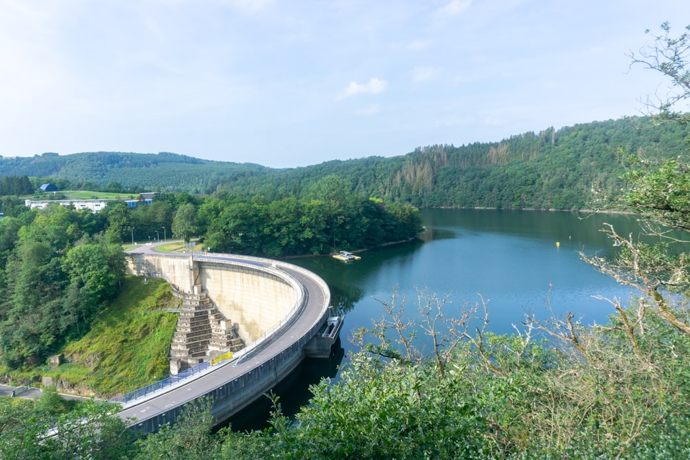 The dam in the Sure