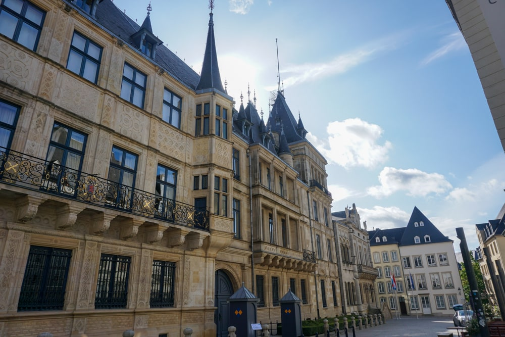 Grand Ducal Palace in Luxembourg