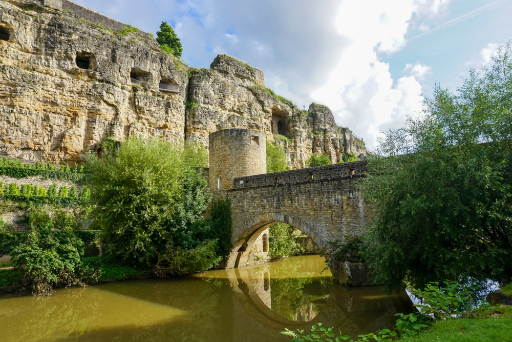 Casemates in Luxembourg