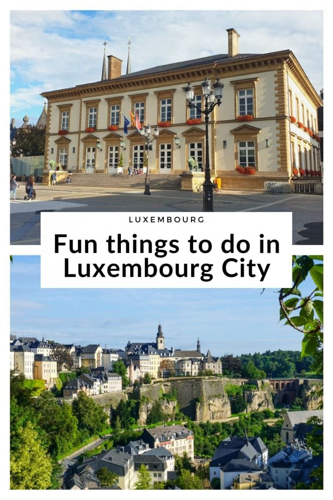 The best things to do in Luxembourg City