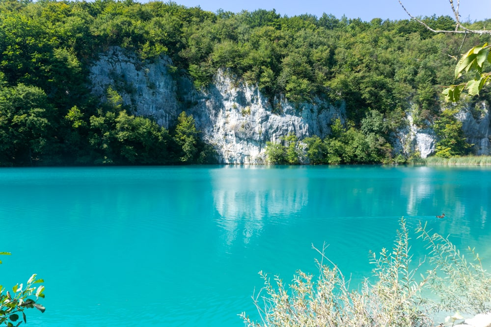 Bluest lakes at the lower lakes